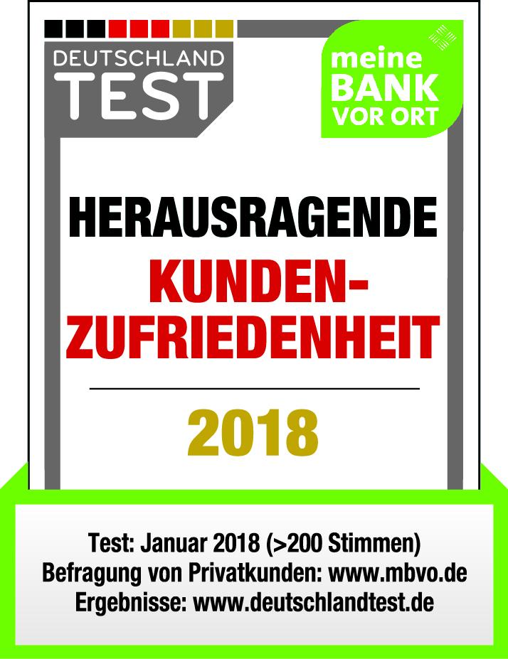 Kundenfreundlichste Banken 2018